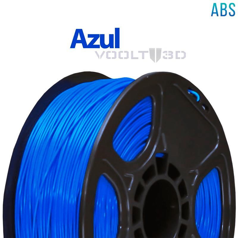 FILAMENTO ABS - AZUL - 1,75 MM - 1KG
