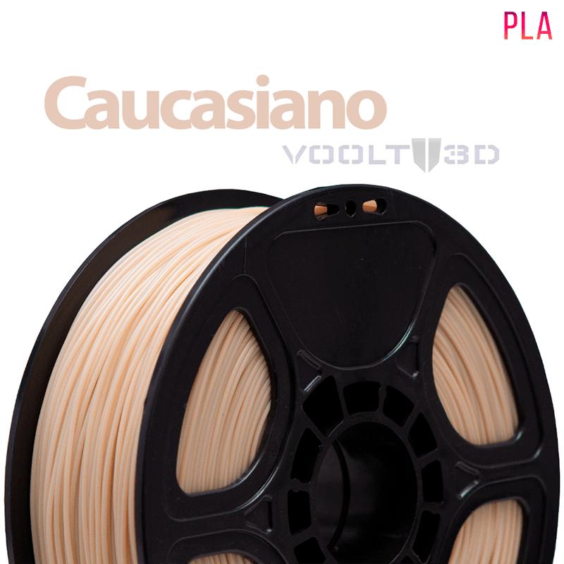 FILAMENTO IMPRESSORA 3D - CAUCASIANO