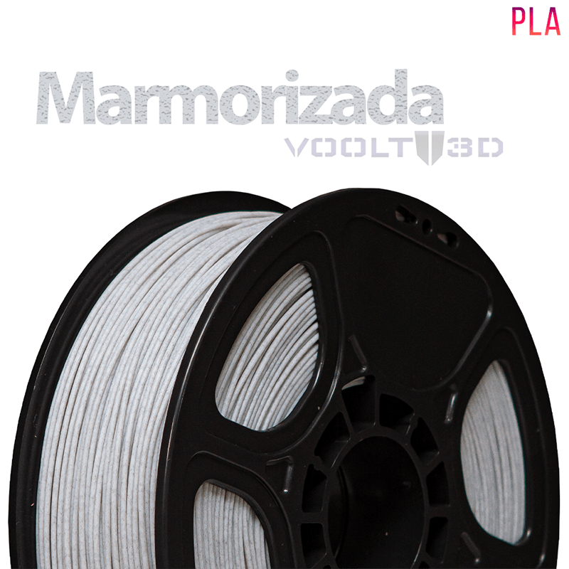 FILAMENTO IMPRESSORA 3D - MARMORIZADA