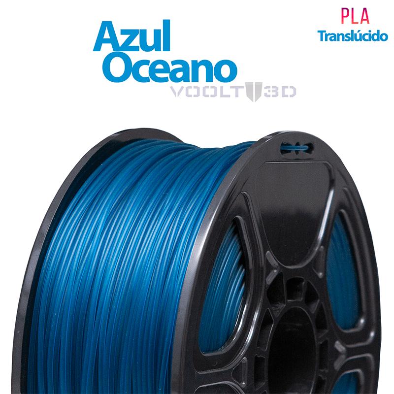 FILAMENTO IMPRESSORA 3D - AZUL OCEANO