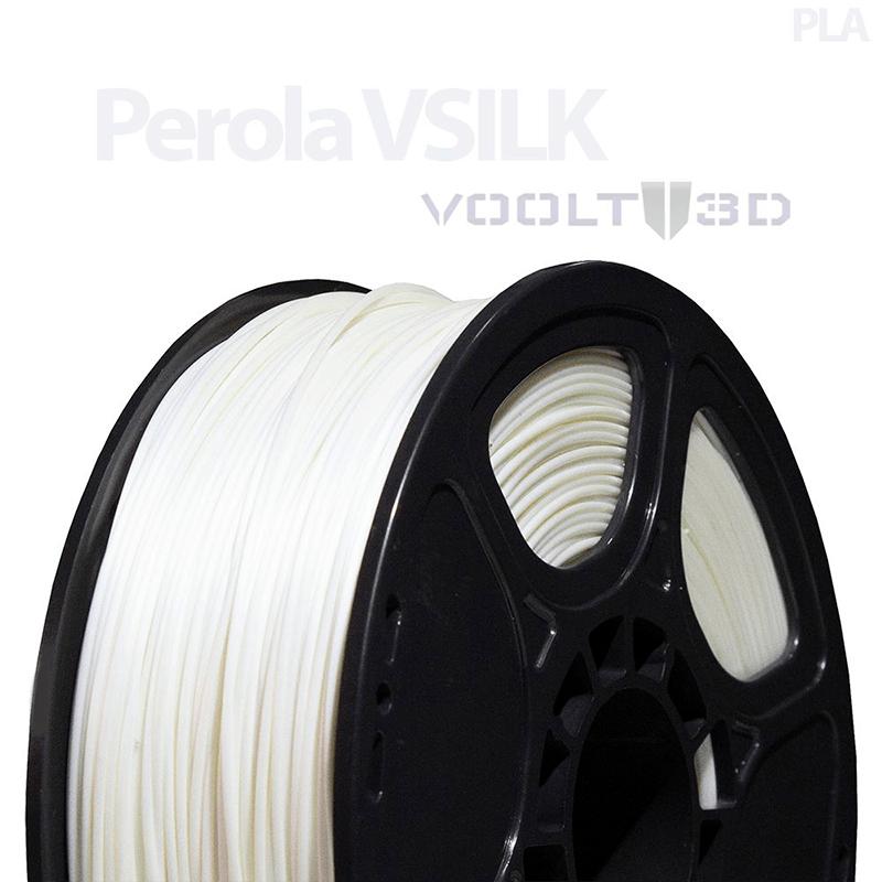 FILAMENTO PLA VSILK - PÉROLA - 1,75 MM - 1KG
