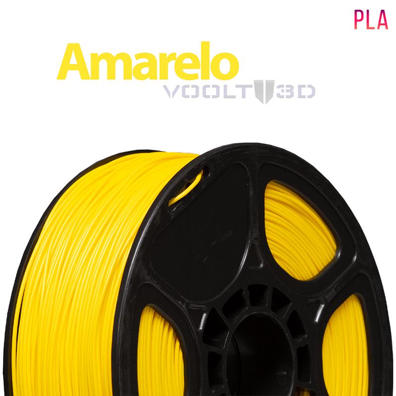 FILAMENTO IMPRESSORA 3D - AMARELO