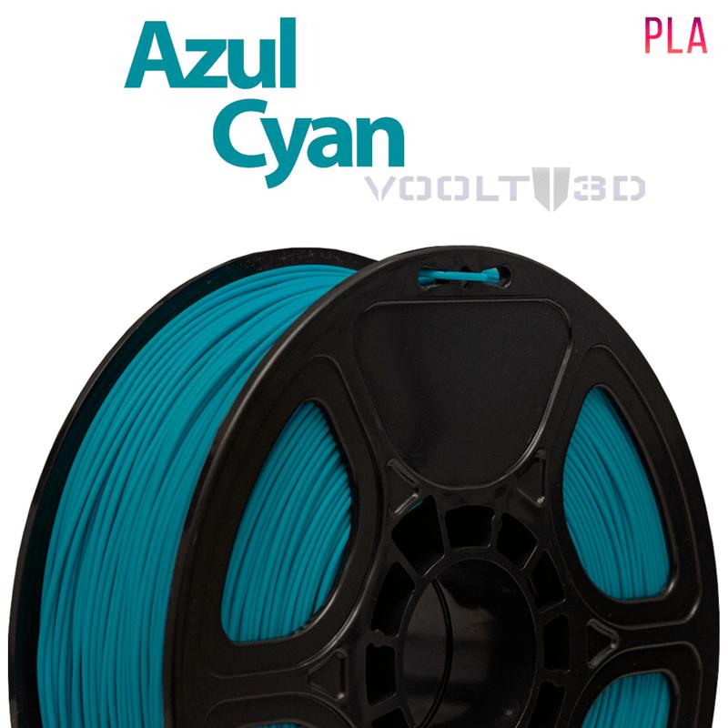 FILAMENTO IMPRESSORA 3D - AZUL CYAN