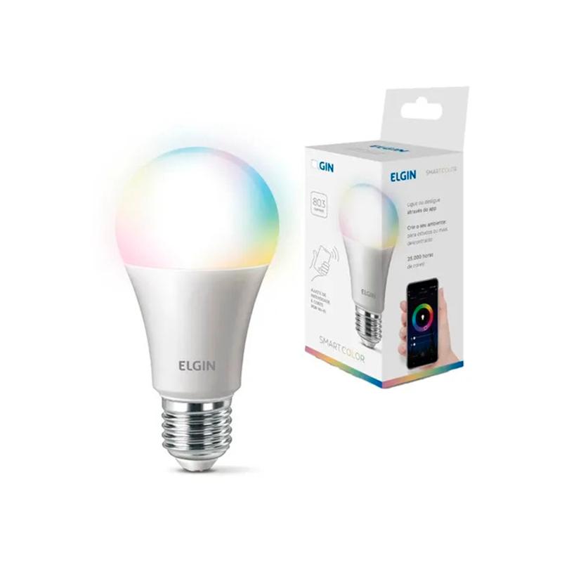 Lampada LED Inteligente RGB 10W
