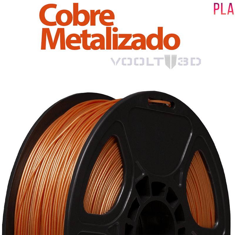 FILAMENTO IMPRESSORA 3D - COBRE METALIZADO